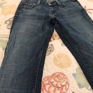 7 for all mankind jeans length 33 1/2 inches